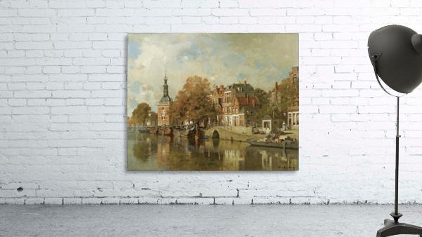 The verdronken oord with the Accijnstoren, Alkmaar