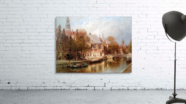 The Oude Kerk and Saint Nicolaaskerk