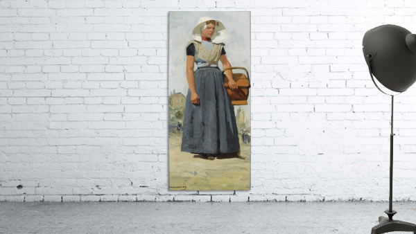 An Arnemuiden Fisherwoman