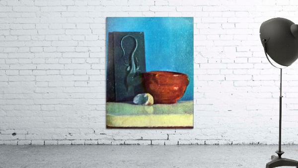 Still Life with lizard by Degas