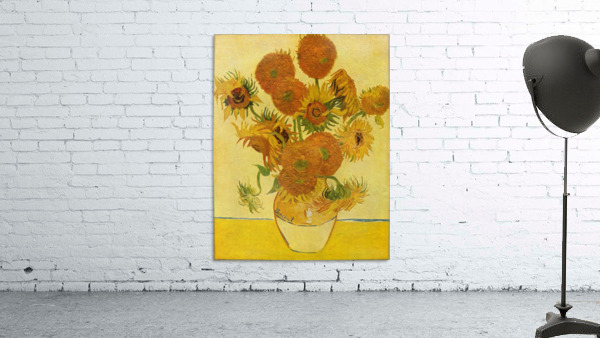 Still life with sunflowers by Van Gogh