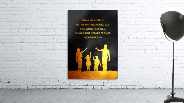 Proverbs 22:6 Bible Verse Wall Art