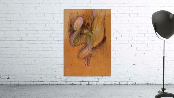 Study for Loie Fuller by Toulouse-Lautrec