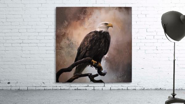 Looking Forward - Eagle Art by Jordan Blackstone