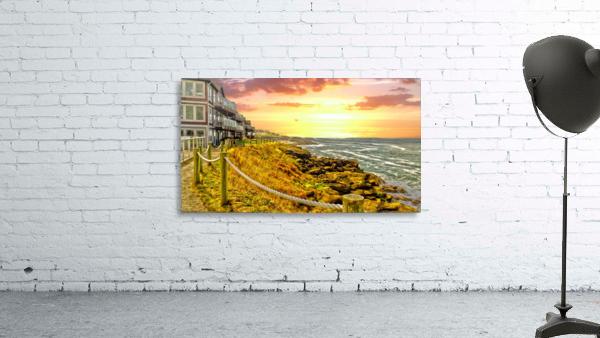 Depoe Bay On the Oregon Coast - Art Style
