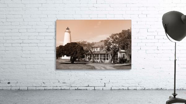 Ocracoke Light ap 1743 B&W