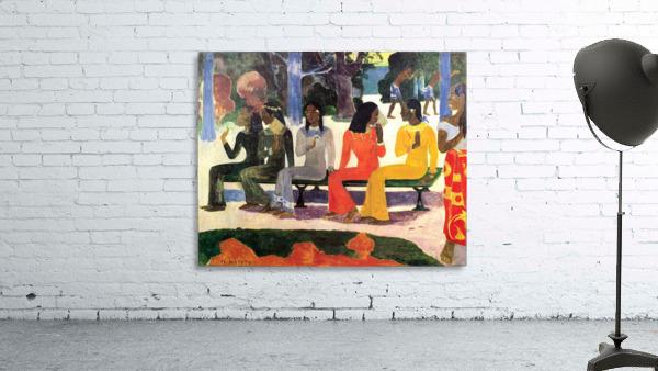 Ta Matete by Gauguin