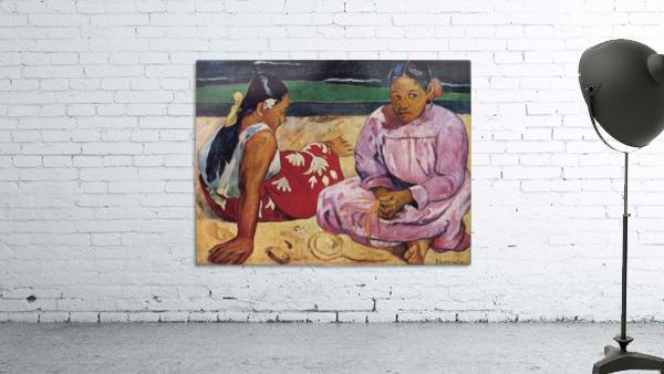 Tahitian Women on Beach by Gauguin