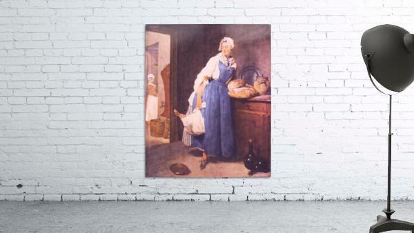 The bread by Jean Chardin