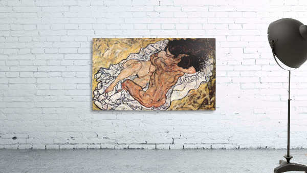 The Embrace by Schiele