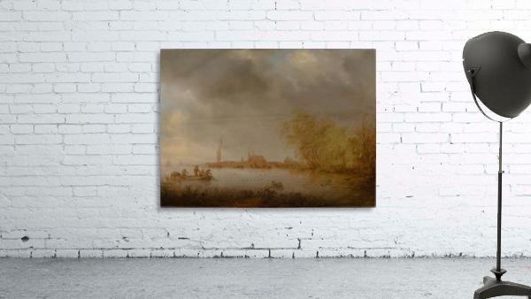 River Scene near Deventer