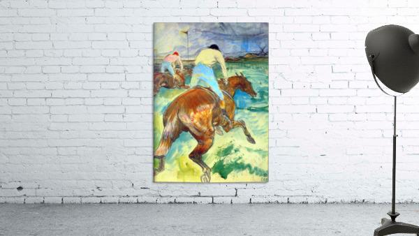 The Jockey by Lautrec 1899