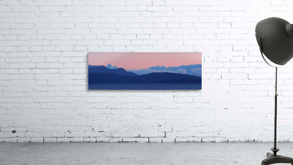 Pink And Blue by Randy Hall