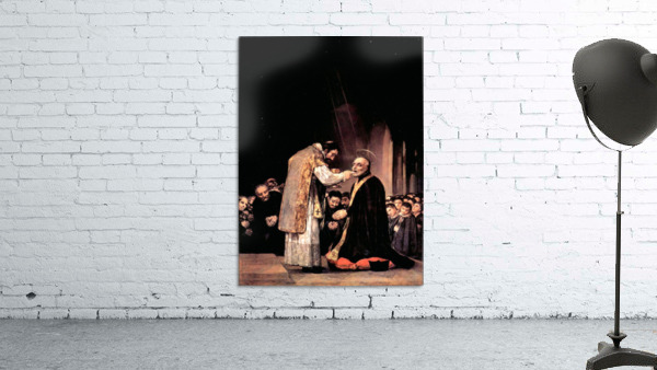 The last communion of St. Joseph of Calasanza by Goya