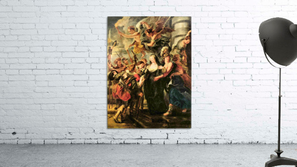 The Medici s queen escapes from Blois by Rubens