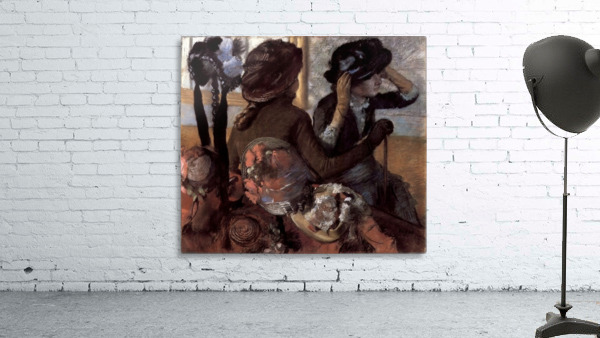 The milliner 1 by Degas