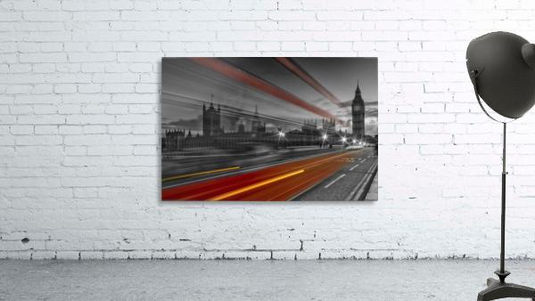 LONDON Red Bus Print