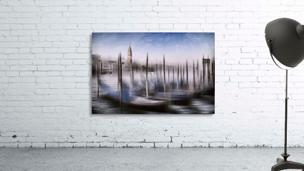 Digital-Art VENICE Grand Canal and St Mark's Campanile