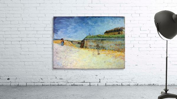 The Ramparts of Paris2 by Van Gogh