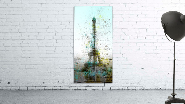 City-Art PARIS Eiffel Tower II Print