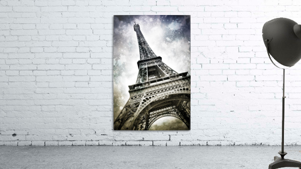 Modern-Art PARIS Eiffel Tower Splashes