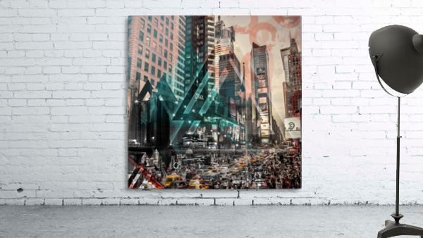 New York City Geometric Mix No. 4 Print