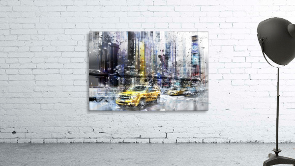 City-Art NYC Collage Print