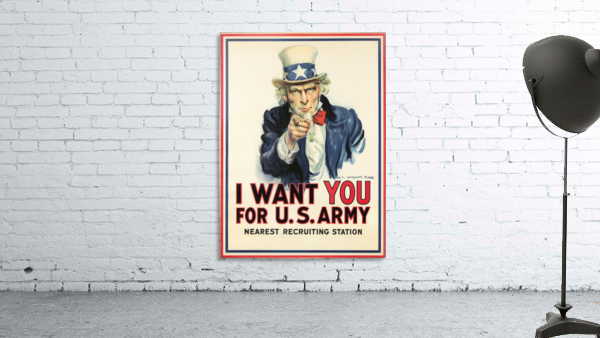 I Want You, 1917