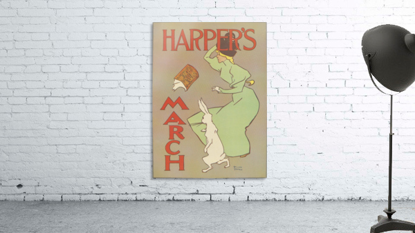Harpers March Edward Penfield Mini Poster