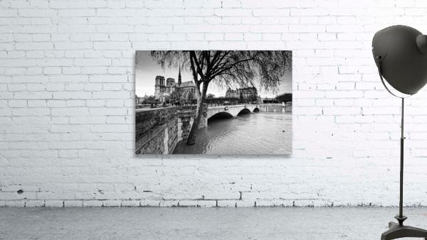 Seine river flood
