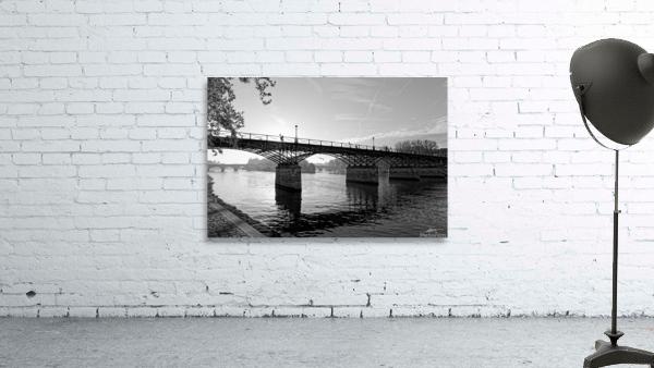 Pont des arts sunrise