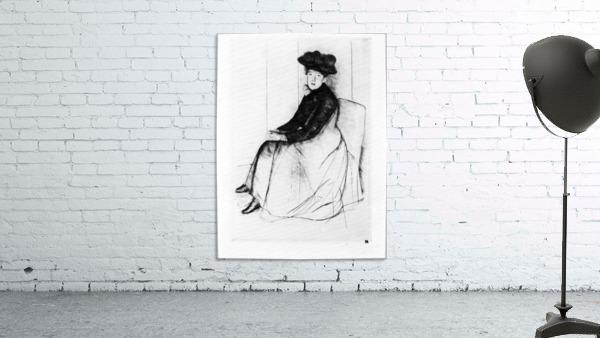 Thoughtfully by Cassatt