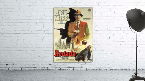 Film Noir Poster - Dragnet