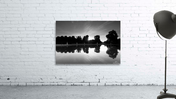 Tuileries reflection