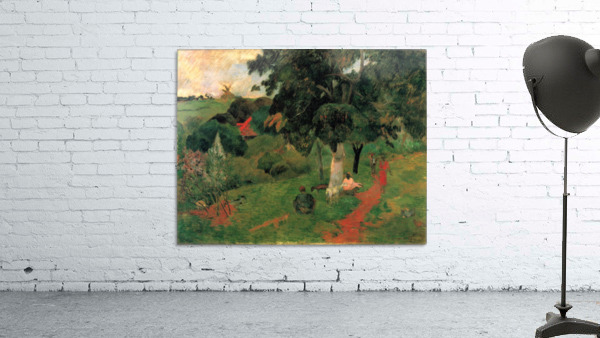 To and Fro by Gauguin