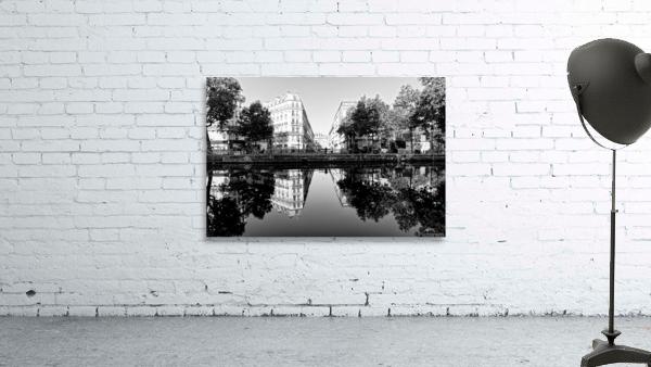 Canal Saint Martin reflection