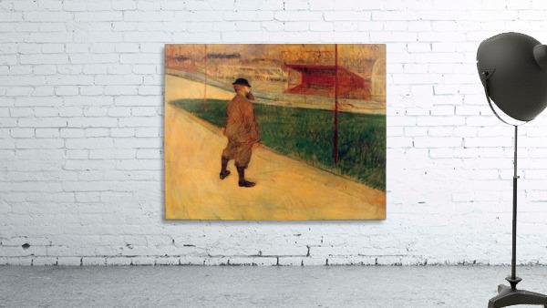 Tristan Bernard by Toulouse-Lautrec