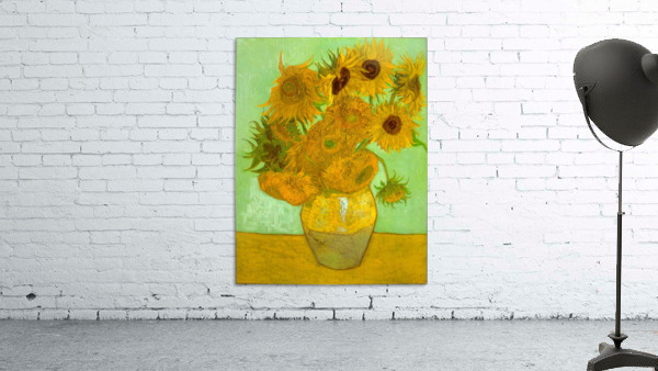 Twelve Sunflowers by Van Gogh