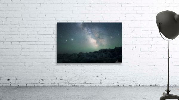 Milky Way Above The Badlands