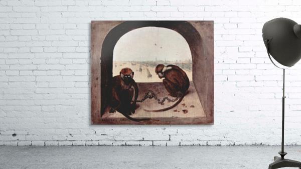 Two monkeys by Pieter Bruegel