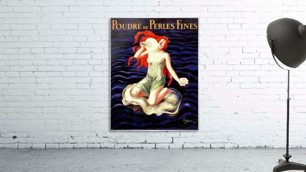Poudre de Perles Fines Vintage Poster