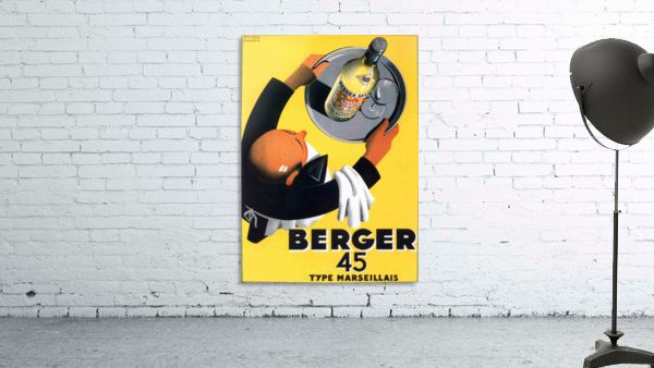 Berger 45 Poster Ad Roland Ansieau 1935