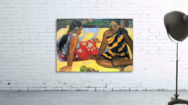 Two Women From Tahiti by Gauguin
