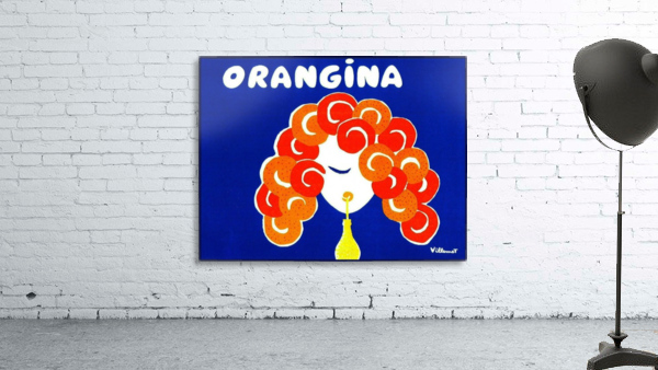 Bernard Villemont Orangina Advertising Poster