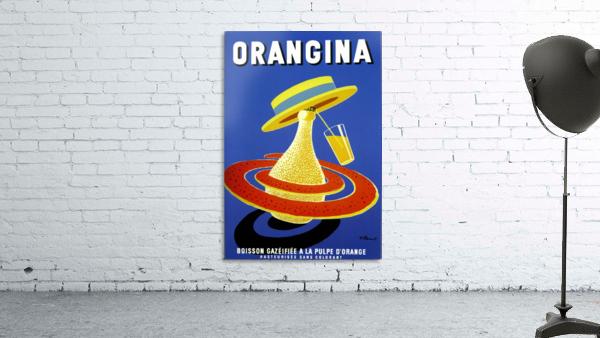 Orangina Vintage Poster