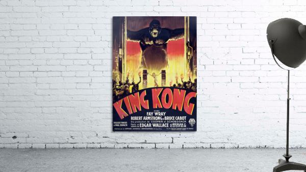 King Kong Vintage Poster