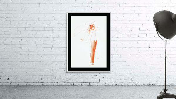 I Know What He Wants for Fathers Day by George Petty Pin-up Girl Vintage Art