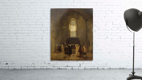 Examining an Old Church