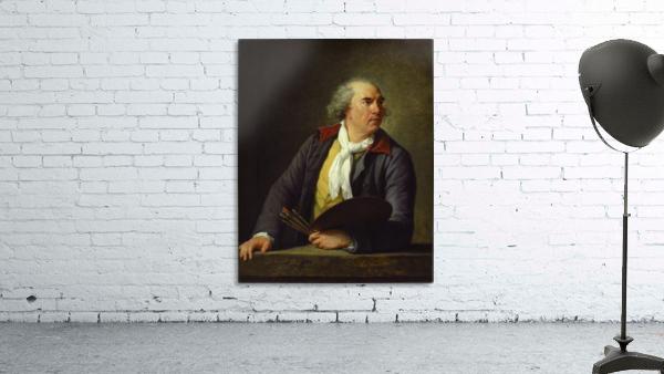 Portrait of Hubert Robert, 1788