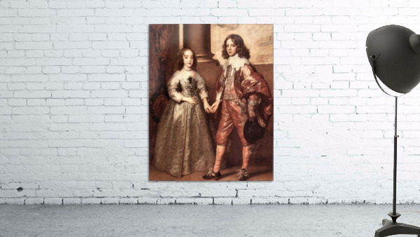 William of Orange with his future bride by Van Dyck